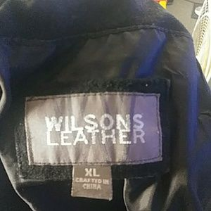 Mens Wilson's leather jacket